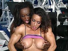 Denise Masino and Dayana Cadeau -..