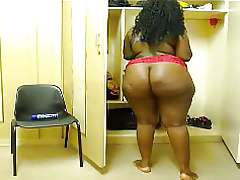 African BBW naked, hige big black..