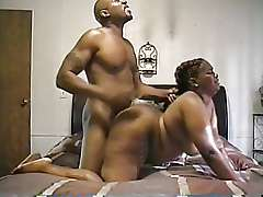 Chubby black mom fuck bend over