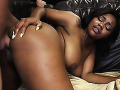 Hot Black Girl Nina Gets Fucked..
