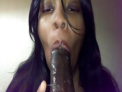 Deepthroating BBC Until She Cries