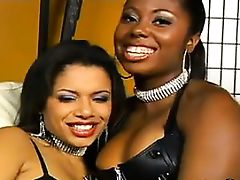 Ebony British Lesbians With Their..