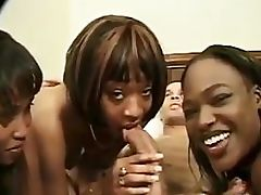 Sluts In An Ebony Foursome