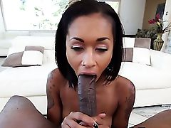Skin Diamond Fucked By Huge Black..